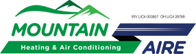Mountain Aire heating and air conditioning Website logo