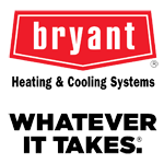 Bryant heating and cooling whatever it takes logo